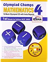 Olympiad Champs Science, Mathematics, English Class 4 with 18 Mock Olympiad Tests CD (Set of 3 Books)