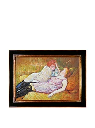 Toulouse Lautrec: The Sofa, 1896