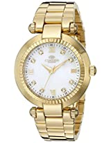 Oniss Paris Women's ON615N-LG MADISON COLLECTION Analog Display Swiss Quartz Gold Watch