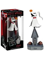 Zero ~7.3 Bobble Head Figure: Tim Burton's The Nightmare Before Christmas Wacky Wobbler 20 Years Anniversary Series