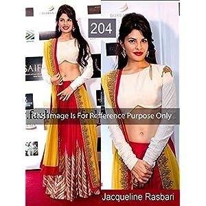 High5store Jacqueline Lehenga Choli - Yellow & Red