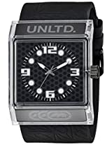 Marc Ecko Street Analog Black Dial Unisex Watch - E08513G6
