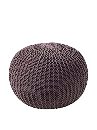 Your Fireplace Pouf Brown