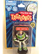 Disney Parks Toy Story Buzz Lightyear Tagalong Plastic Figurine NEW