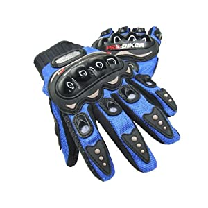 Probiker Full Finger Bike Gloves Blue