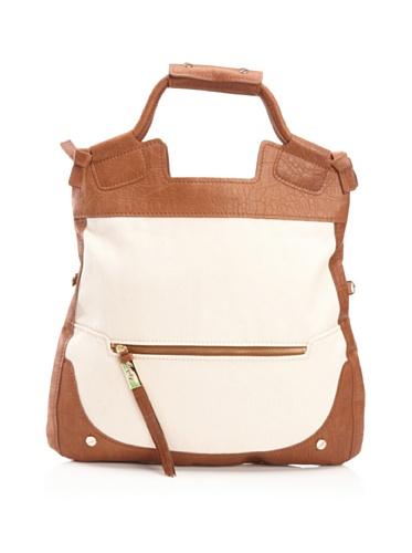 Foley + Corinna Luggage Mid City Tote (Brown)