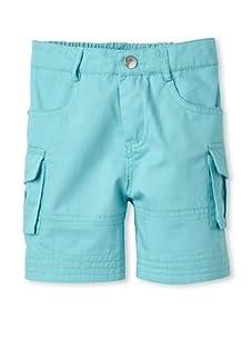 TroiZenfantS Baby Cargo Shorts (Turquoise)