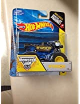 Monster Jam AfterShock #76 includes monster jam figure hot wheels off-road