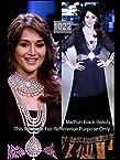 Madhuri Dixit In Designer Black Anarkali Suit Walk At Iijw 2012