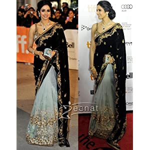 Indian Bollywood Dashing Superb Fancy Sensational Sri Devi Saree-Sarees-India saree mart
