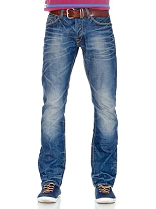 Pepe Jeans London Vaquero Golddigger (Azul Medio)