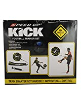 SPEED UP Kick Football Trainer Set (Yellow and Black)