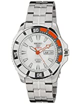 Seiko 5 Sports Analog White Dial Men's Watch - SRP201K1