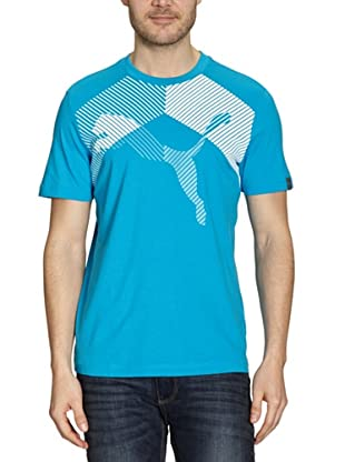 Puma T-Shirt Graphic (blue danube)