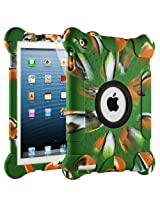 HHI 3rd Generation Kids Fun Play Armor Protective Case with Retina display for iPad 4/2 - Camouflage