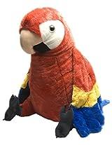 Wild Republic Cuddlekins Jumbo Scarlet Macaw Plush