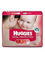 Huggies total protection large (8-14kg) 8 nos