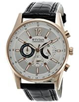Titan Octane Chronograph Analog Multi-color Dial Men's Watch - NC9322WL01A