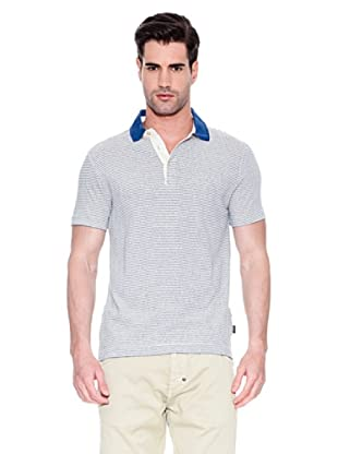 Hugo Boss Polo Don (Azul / Blanco)