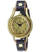 Aveiro Analog Gold Dial Women's Watch - AV67BLU