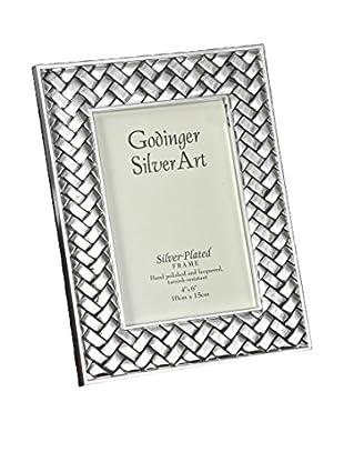 Philip Whitney Godinger Woven Frame (Silver)