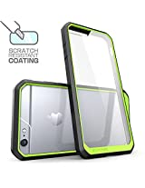 SUPCASE Clear Hybrid Protective Bumper Case Cover for Apple iPhone 6 6S - Green