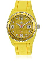 Adh6177 Yellow Analog Watch Adidas