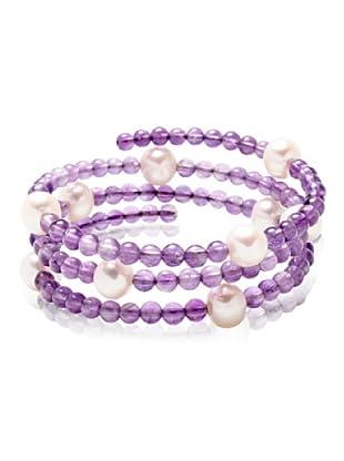 Valero Pearls 60200803 - Pulsera de mujer con perla cultivada de agua dulce, 50 cm