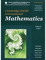 Cambridge IGCSE International Mathematics 0607 Core