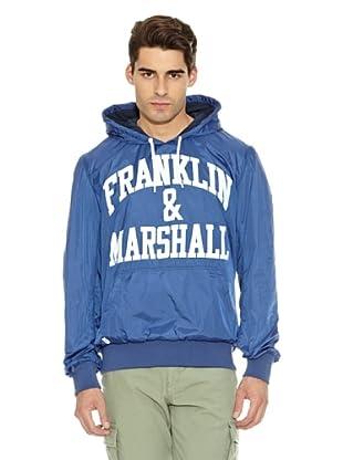 Franklin & Marshall Sudadera Hendry Capucha (Azul)