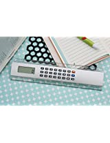 Dual Function Kenko Electronic Ruler Calculator, Scale - 20 cm / 8 inch - Maths Calculations and Measure at the Same Time