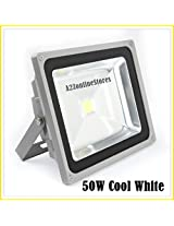 50W LED Flood Light -warm White- Indoor & Outdoor USE-DIRECT 100-264 V AC BY A2Z TECH