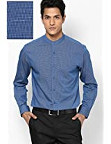 Blue Full Sleeve Formal Shirt Peter England