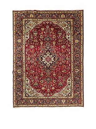 Navaei & Co Teppich Persian Tabriz rot/blau/mehrfarbig