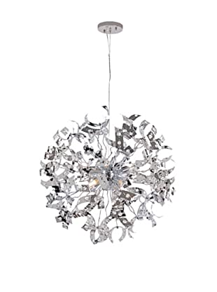 Transglobe Lighting Large Crystal Isotope Pendant