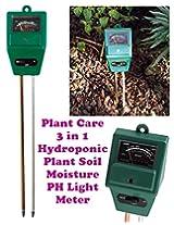 Gadget Hero'S Plant Care New 3 In 1 Hydroponic Plants Soil Moisture Ph Light Meter, Tester...