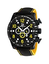 Joshua & Sons Men's JS714YL Chronograph Stainless Steel Sports Watch