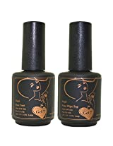 Gel Nail Polish, Gel 7 Soak Off Gel Top / Base Coat Led Uv Manicure Polish