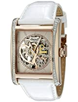 Ingersoll Women's IN5013RWH Desert Analog Display Automatic Self Wind White Watch