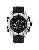 Bulova Marine Star Analog-Digital Black Dial Men's Watch - 98C119
