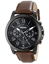 Fossil Analog Black Dial Men's Watch - FS4885