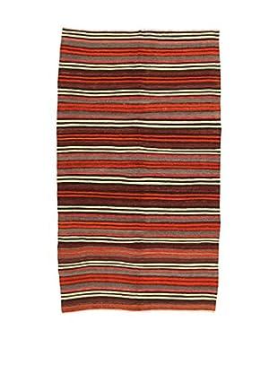 Design Community By Loomier Teppich Kilim Caucasico mehrfarbig 146 x 256 cm