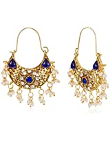 Ava Drops Earrings for Women (Blue) (E-SD-ACE553)