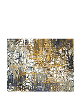 Surya Dripping Paint Wall Décor, Multi, 36