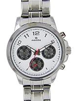 Maxima Attivo Analog White Dial Men's Watch - 27552CMGI