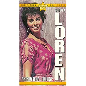 【クリックで詳細表示】Yesterday Today & Tomorrow [VHS] [Import]: Sophia Loren, Marcello Mastroianni, Aldo Giuffre, Agostino Salvietti, Lino Mattera, Tecla Scarano, Silvia Monelli, Carlo Croccolo, Pasquale Cennamo, Tonino Cianci, Armando Trovajoli, Tina Pica, Vittorio De S