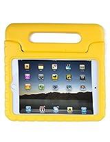 HDE iPad Mini 4 Case for Kids Shockproof Handle Stand Protective Cover for 2015 Apple iPad Mini 4 Retina (Yellow)