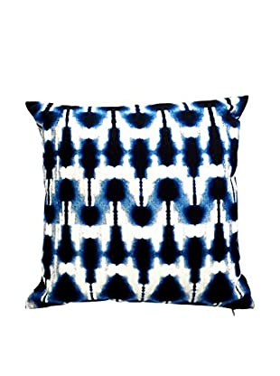 Only Deco Abwaschbares Kissen blau/weiß