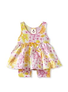 Country Baby Girl One Piece Texas Tutu (Country Flowers)