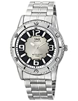 Q&Q Analog Silver Dial Men's Watch - Q686N214Y